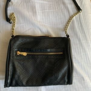 INDIGO Black Crossbody purse